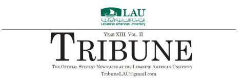LAU Tribune Summer Break!